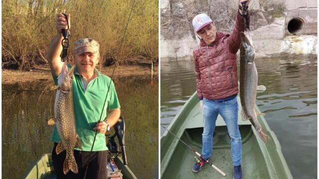 Liviu Dragnea si Sorin Grindeanu la pescuit