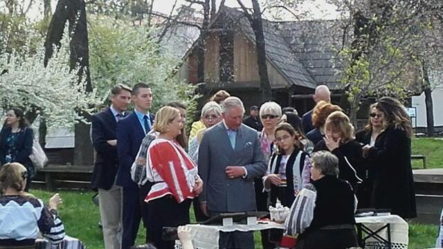 A admirat incondeierea oualor si a plantat un pom. Cum a decurs a doua zi din vizita Printului Charles in Romania - Imaginea 3