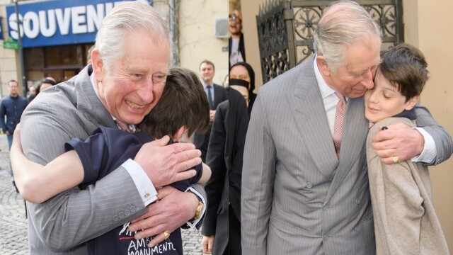 Printul Charles vizita