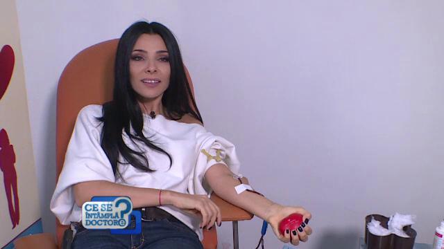 Corina Caragea a donat sânge pentru pacienţi! Mesajul prezentatoarei TV pentru cei care vor să doneze