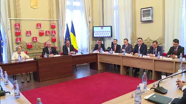 Prima ședință cu noii lideri PSD. Avertismentul lui Dragnea