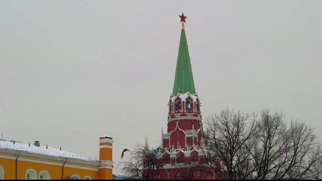 Ciori la Kremlin
