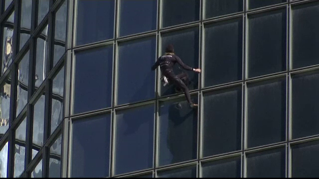 Spiderman al frantei
