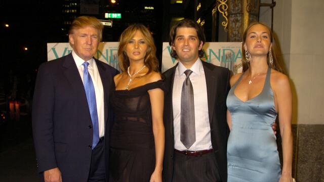 Donald Trump jr, vanessa trump, donald trump, melania trump