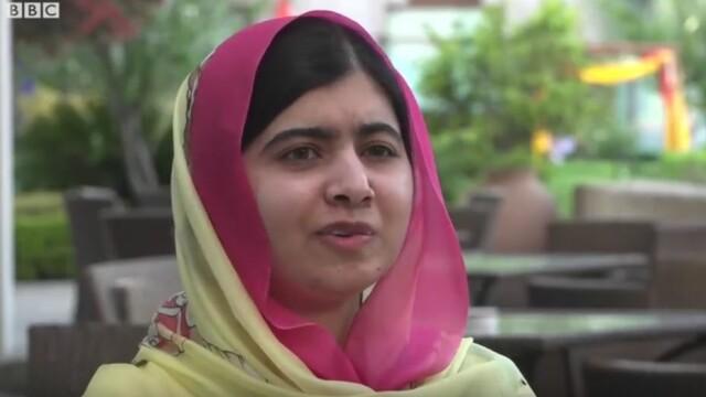 Malala s-a întors la locul unde a fost împușcată în cap. Cum a fost primită