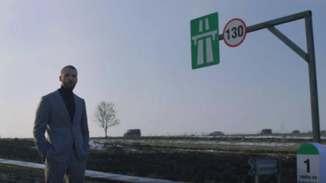 Ștefan Mandachi, autostrada 1 metru