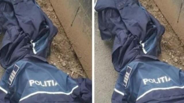 uniforme politie aruncate
