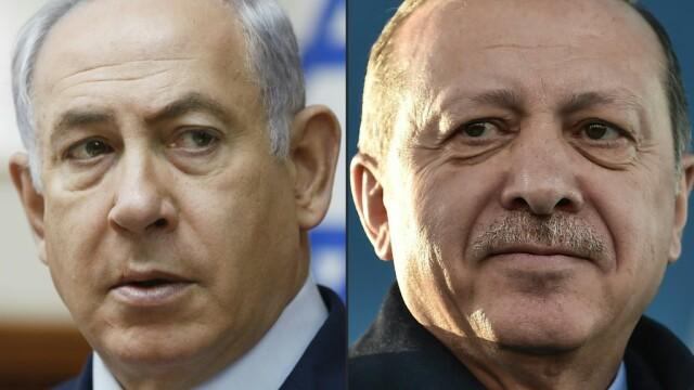 Recep Erdogan, Benjamin Netanyahu