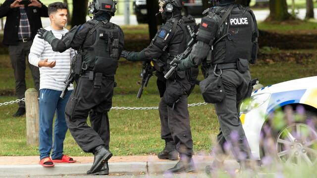 Atac armat în Noua Zeelandă, la două moschei: 49 morți. Noi operațiuni ale poliției - Imaginea 1