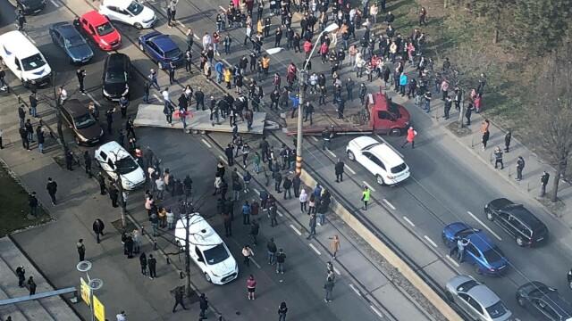 Protest la Bucuresti