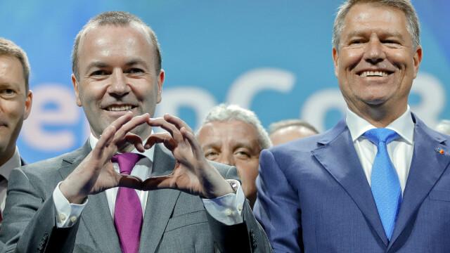 Candidatul PPE la preşedinţia Comisiei Europene: Respect pentru cei care ies în stradă!