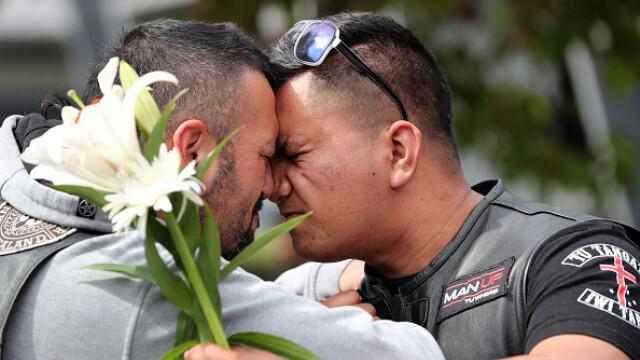 Membrii celei mai cunoscute bande din Noua Zeelandă, cu lacrimi în ochi după atacul terorist - Imaginea 7