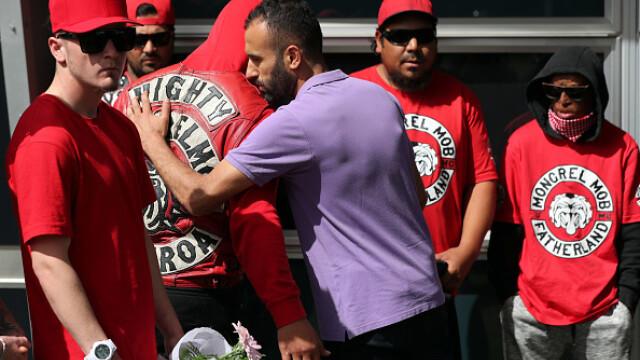 Membrii celei mai cunoscute bande din Noua Zeelandă, cu lacrimi în ochi după atacul terorist - Imaginea 2
