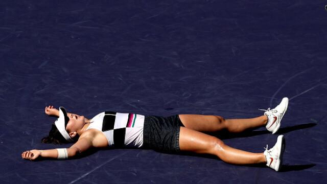 Bianca Andreescu, canadianca de origine română, a câștigat Indian Wells, la 18 ani - Imaginea 10