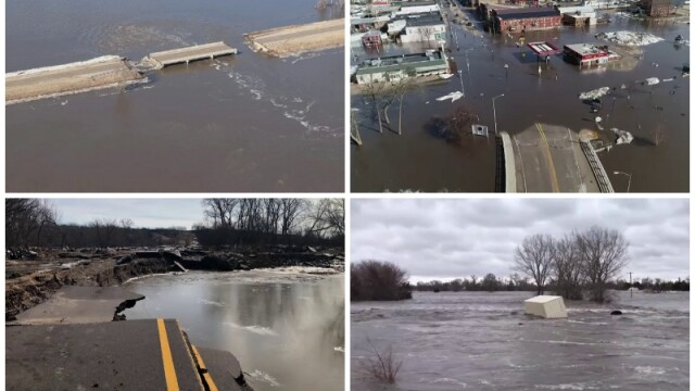 Inundatii catastrofale în Nebraska, SUA