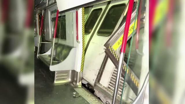 Accident la metroul din Hong Kong. Două trenuri s-au ciocnit violent în timpul unor teste - Imaginea 3