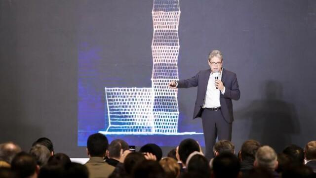 Cum arată turnul din Shanghai inspirat de sculptura artistului Constantin Brâncuși - Imaginea 5