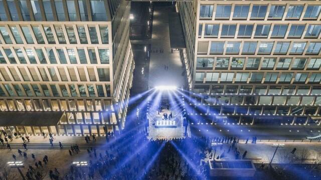 Cum arată turnul din Shanghai inspirat de sculptura artistului Constantin Brâncuși - Imaginea 11