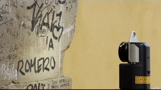 Metoda de ultimă generație pentru curățarea obiectivelor turistice de graffiti - Imaginea 2