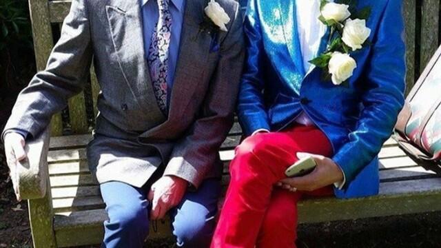Cum arăta Florin înainte să se căsătorească cu vicarul gay cu 55 de ani mai în vârstă - Imaginea 8