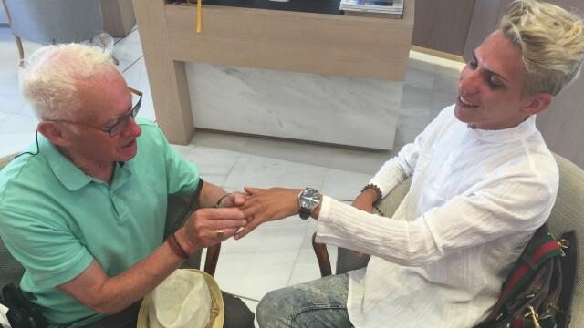 Cum arăta Florin înainte să se căsătorească cu vicarul gay cu 55 de ani mai în vârstă - Imaginea 6