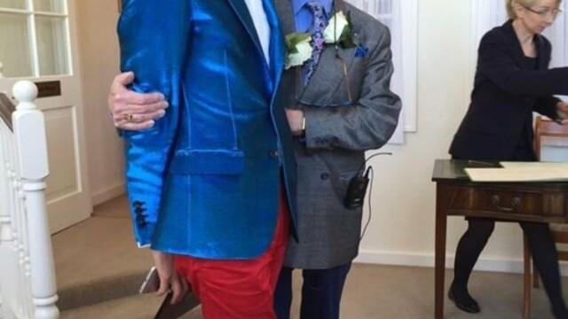 Cum arăta Florin înainte să se căsătorească cu vicarul gay cu 55 de ani mai în vârstă - Imaginea 2