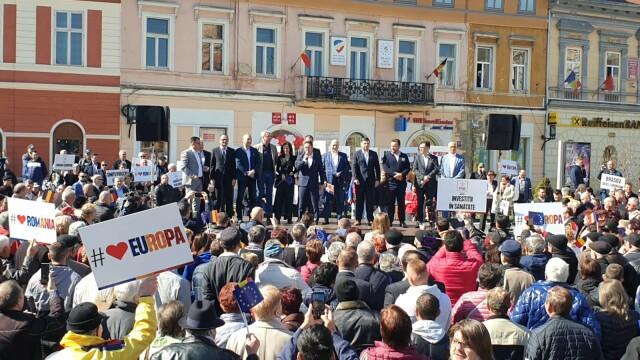 miting PSD Brasov