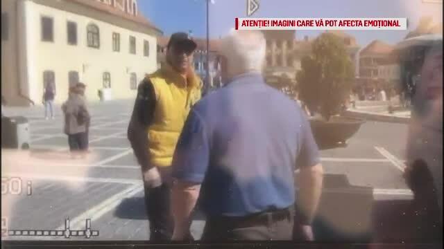 Un susținător PSD a bătut un bărbat. Jandarmii au băgat victima în dubă, agresorul e liber