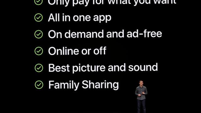 Apple a lansat un serviciu de televiziune și filme, dar și un card de credit - Imaginea 10