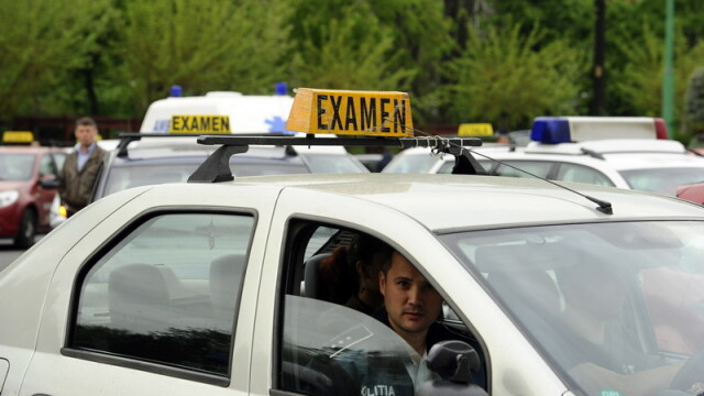 Un bărbat a murit în timp ce dădea examenul auto