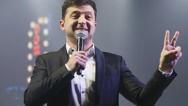 Alegeri prezidențiale în Ucraina. Un actor fără experiență politică a câștigat prima rundă - Imaginea 1