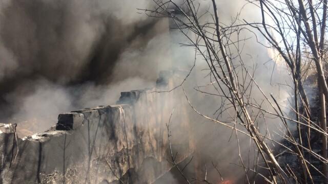 Nou episod de poluare în București. Au ars gunoaie depozitate ilegal - Imaginea 5