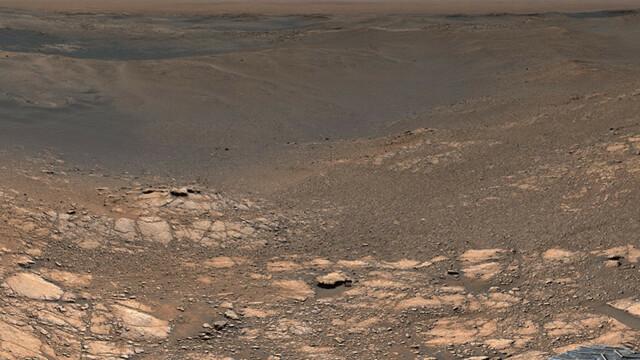 Fotografia cu rezoluție de 1,8 mld. pixeli, realizată pe Marte. Cum arată Planeta Roșie