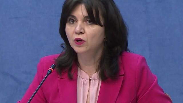 Monica Anisie, la finalul ședinței Comitetului Național pentru situații de urgență