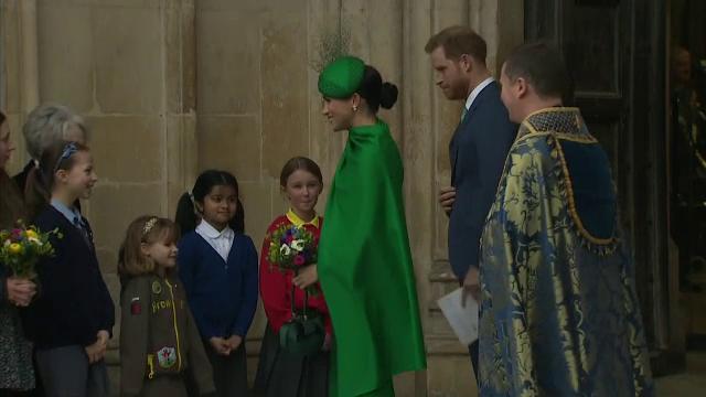 Ultima apariție a lui Harry și Meghan în calitate de membri ai Casei Regale
