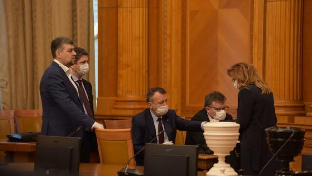 Guvernul Orban a fost votat de Parlament. Măsuri speciale la ceremonia de învestitură - Imaginea 4