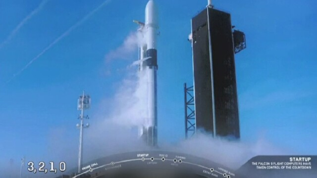 Lansarea unei rachete Space-X, anulată în ultima secundă