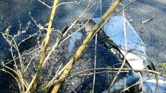 Accident in Arad, după ce un camion cu bitum fierbinte s-a răsturnat - 5