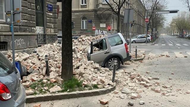 Cutremure de 5,3 şi 5,0 la Zagreb. Nu s-au înregistrat victime. GALERIE FOTO - Imaginea 1