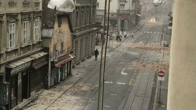 Cutremure de 5,3 şi 5,0 la Zagreb. Nu s-au înregistrat victime. GALERIE FOTO - Imaginea 4