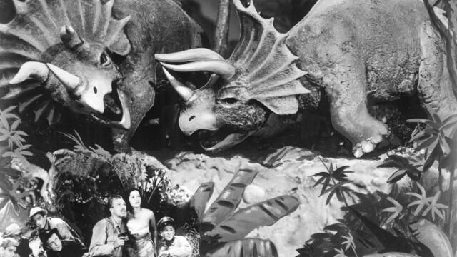 """Scena din filmul """"Lost Continent"""", din 1951"""