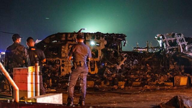 Un avion pentru evacuări militare s-a prăbușit în Filipine. Opt morți - Imaginea 3