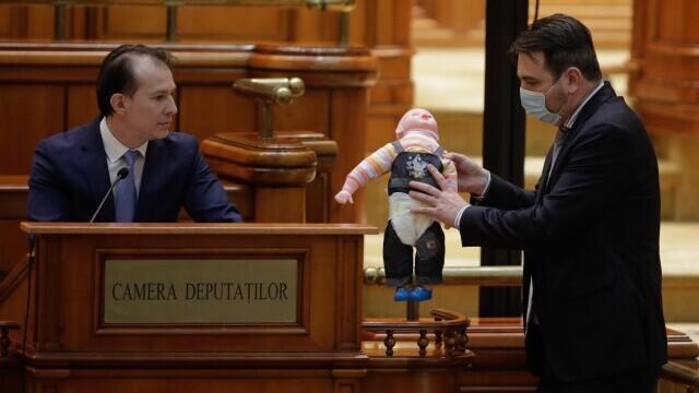 Florin Citu, Parlament, papusa