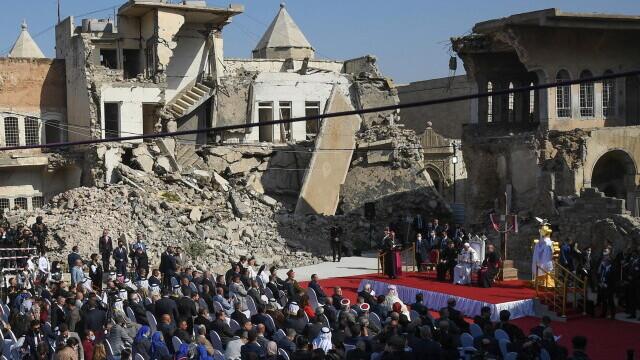 Papa Francisc, Iraq, Mosul