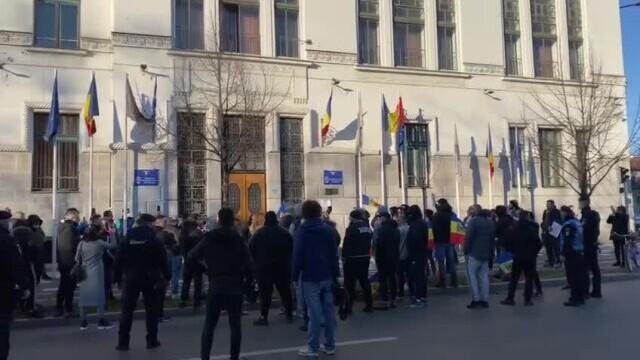 Protest Timișoara - 1