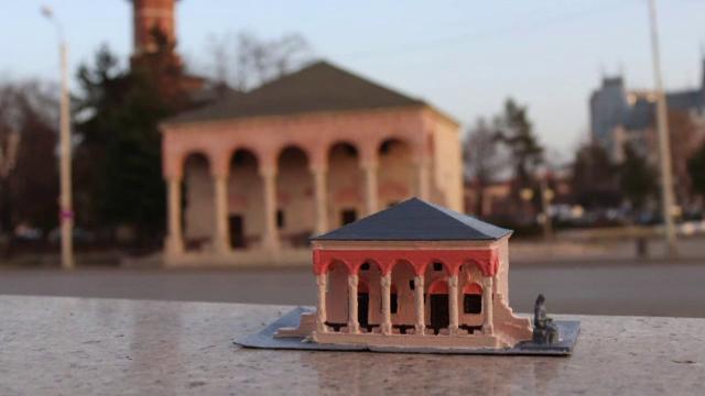 Clădiri emblematice din Iaşi, realizate în miniatură. Machetele vor fi trimise la târguri de turism