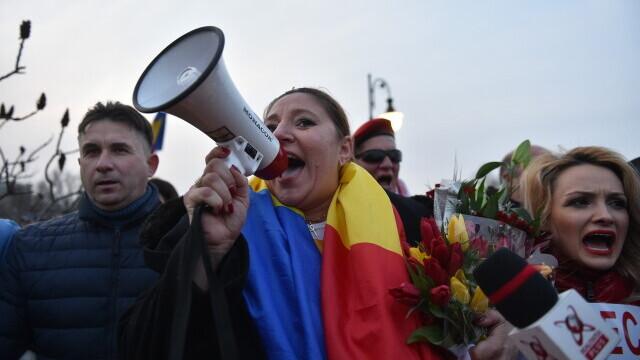 Protest în București - 1