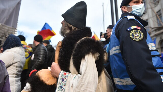 Protest în București - 3