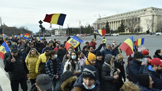 Protest în București - 10