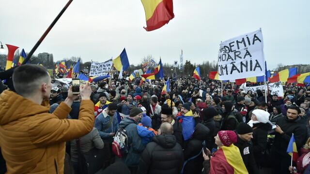 Protest în București - 13